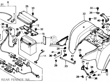 Honda Trx 400 Wiring Diagram on 2004 honda rancher 350 wiring diagram