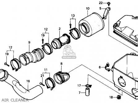 Honda Trx300 Fourtrax 300 1989 K Usa Parts Lists And Schematics