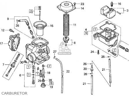 honda fourtrax 300 carburetor diagram car interior design 1honda trx300 fourtrax 300 1995 (s) usa parts lists and schematics
