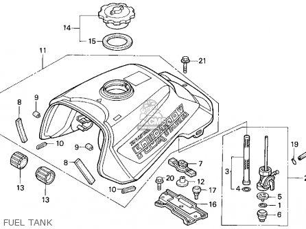 honda trx300 fourtrax 300 1995 s usa parts lists and schematics 1986 Honda FourTrax 250 Wiring honda trx300 fourtrax 300 1995 s usa fuel tank