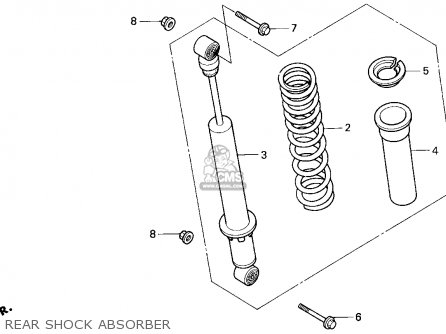 honda trx300 fourtrax 300 1995 s usa rear shock absorber_mediumhu0324f2300_59bf honda trx300 fourtrax 300 1995 (s) usa parts lists and schematics