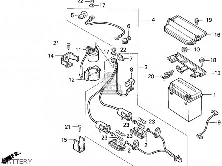 Honda Trx Fourtrax Usa Battery Mediumhu F Ed on honda 300 fourtrax wiring diagram
