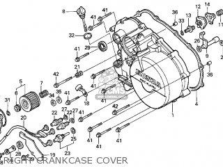 Honda Trx300 Fourtrax 300 1998  w  Usa parts list partsmanual partsfiche
