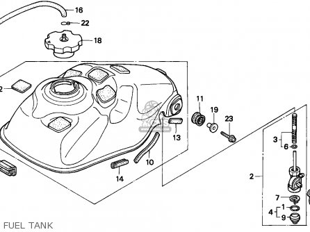 Honda Trx 300 Wiring Diagram Additionally Cb350
