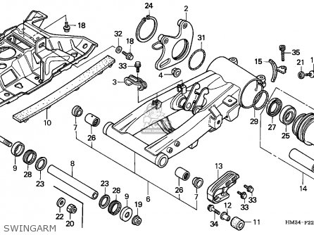 400ex Swingarm Diagram