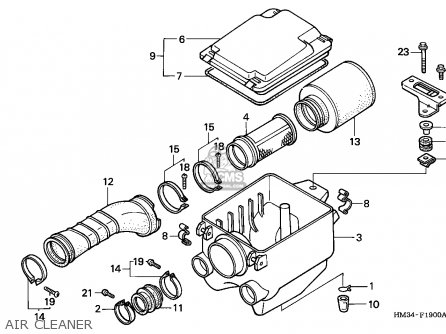 Honda Trx300ex Fourtrax 2000 Y Usa Parts Lists And Schematics