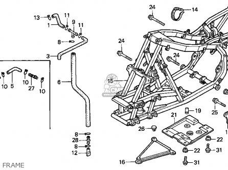[SCHEMATICS_4US]  Honda TRX300EX FOURTRAX 300EX 1993 (P) USA parts lists and schematics | Honda 300ex Engine Diagram |  | Cmsnl.com