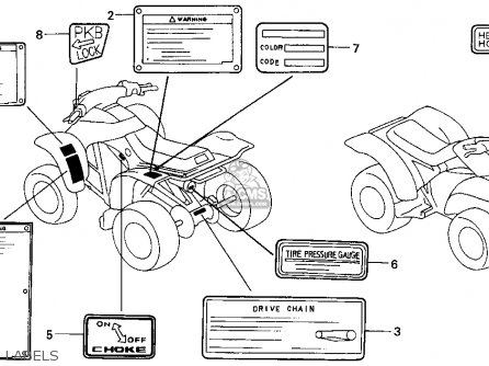 88 Honda 350 Foreman Engine Diagram on honda foreman vin number location