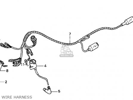 Honda Fourtrax 300 Wiring Harness Diagram on honda trx 250 wiring diagram