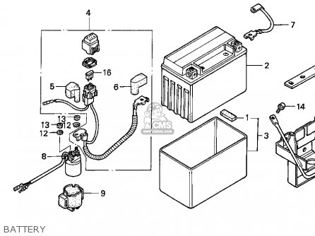 1996 Honda Fourtrax Carburetor Schematics