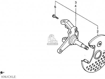 Honda TRX300EX FOURTRAX 300EX 1997 (V) USA parts lists and ...