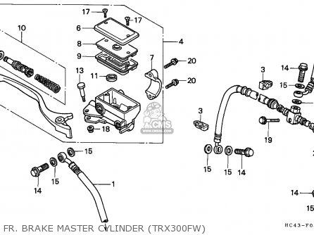 Vin Location On Honda Rubicon Atv on yamaha banshee wiring diagram