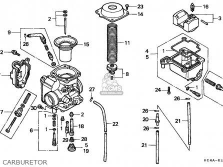 137711 further Partslist besides Honda Trx400ex Fourtrax 400 Ex 1999 Usa Front Brake Caliper as well 1987 Honda 250x moreover Honda 18hp Carb. on honda trx 250x