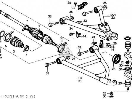 1998 Honda Trx 400 Fw Wiring Diagram
