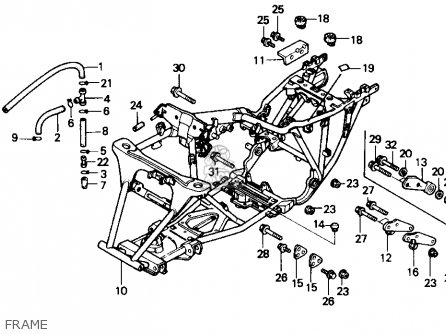 electrical wiring diagram 89 ford f 250 honda 250 and 300 model c72c77 electrical wiring diagram picture honda trx300fw fourtrax 4x4 1990 (l) usa parts list ...