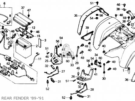 1997 Honda Fourtrax Wiring Diagram