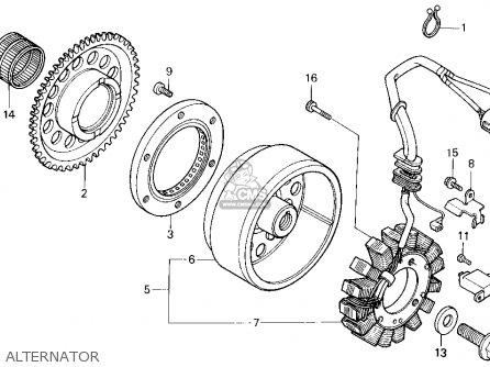 Kawasaki Bayou 400 Engine Diagram also Wiring Diagram Honda 450 Scrambler furthermore Honda Trx200sx Wiring Diagram likewise Honda 70 Atc Recoil Starter Parts Diagram moreover Ct90 Carburetor Diagram. on honda atv wiring diagram