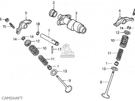 Honda 300 Fourtrax Kick Starter Diagram