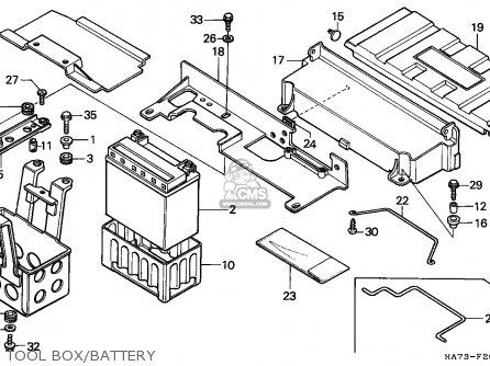 Honda Trx 350 Parts Diagram
