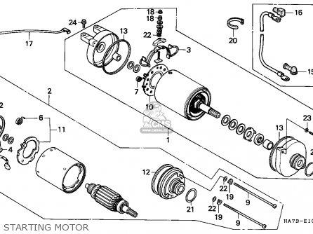 Honda Sportrax 250ex Wiring Diagram