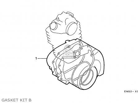 Honda Trx350 Fourtrax 1990 L Canada Parts Lists And Schematics