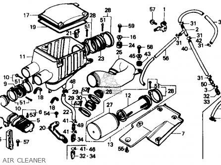 Honda Trx350 Fourtrax 4x4 1986 g Usa Air Cleaner