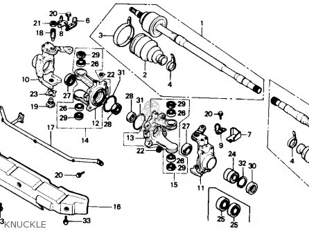 96 Honda Fourtrax Wiring Diagram