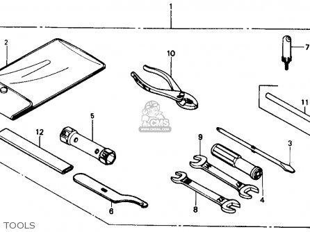 Honda Trx350 Fourtrax 4x4 1987 h Usa Tools