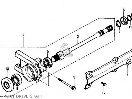 honda trx350d 1987 fourtrax foreman 4 x 4 usa front drive shaft_mediumhu0330e1700_7758 hei distributor parts diagram hei find image about wiring,Hei Coil Wiring