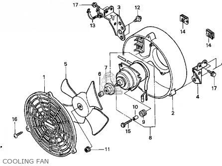 Honda Trx400fw 1998 W Usa Parts Lists And Schematics