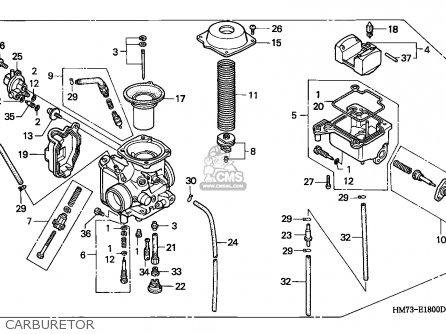 honda fourtrax atv used parts