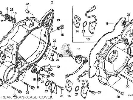 Honda Trx400fw Fourtrax 1998 W Australia Hor Parts Lists And