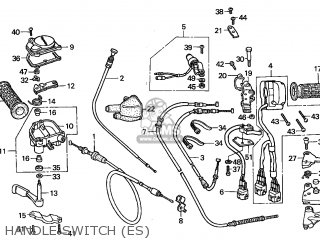 trx450es wiring diagram honda trx450es fourtrax 1998 (w) canada ref parts list ...