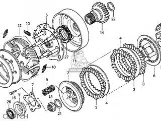 Honda Cbr1100xx 1998 Usa Parts Lists