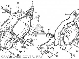 Honda Foreman 450 Rear Axle Diagram