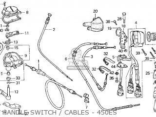 trx450es wiring diagram honda trx450es fourtrax foreman es 1998 usa parts list ... #2