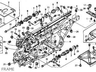 Honda TRX450ES FOURTRAX FOREMAN ES 1998 (W) USA parts ...