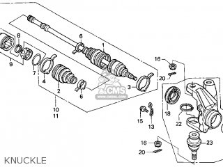 Honda Foreman 450 Front Brake Diagram