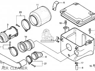 honda 450es carburetor diagram