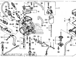 Honda Trx450r 2004 4 Usa Parts Lists And Schematics
