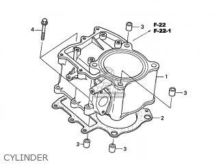 honda trx500fa fourtrax foreman 2001 1 usa mph parts lists and  honda trx500fa fourtrax foreman 2001 1 usa mph cylinder