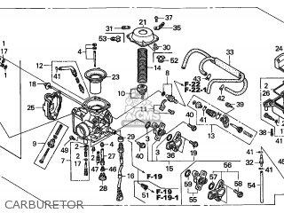 honda trx500fa fourtrax foreman 2006 6 australia parts lists and  honda trx500fa fourtrax foreman 2006 6 australia carburetor