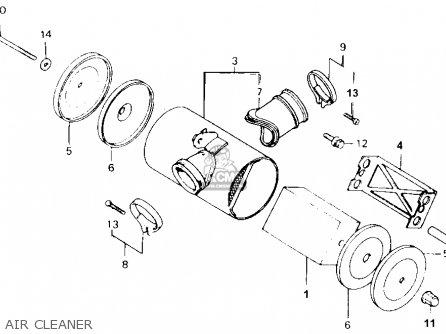 honda trx70 fourtrax 70 1986  g  usa parts lists and