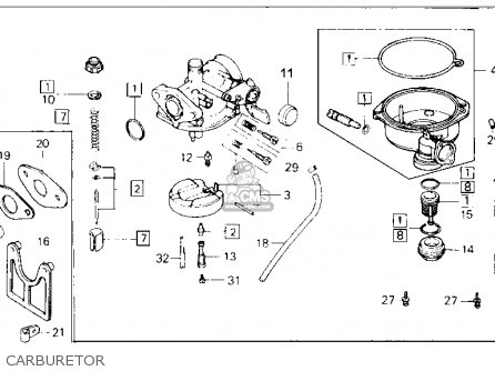 wiring diagram honda pa 50 wiring diagram honda trx 70 honda trx70 fourtrax 70 1986 (g) usa parts lists and ...