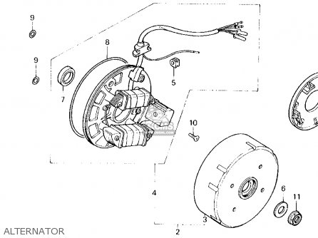 honda trx 70 wiring diagram honda trx 200 wiring diagram honda trx70 fourtrax 70 1986 usa parts list partsmanual ...