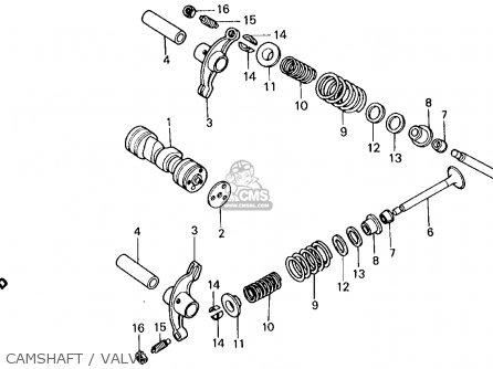 camshaft / valve