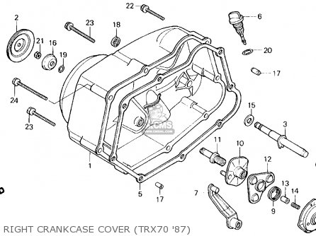 87 Honda 125 Trx Wiring Diagram also Honda Rancher Wiring Harness in addition Honda Trx250 Fourtrax 250 1985 Usa Crankshaft Chart together with 1986 Honda Rebel 250 Wiring Diagram moreover Honda 250 Recon Engine Diagram. on 1987 honda recon 250 wiring