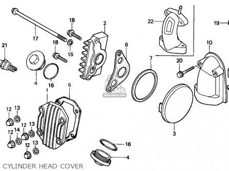 honda trx90 fourtrax 1994 (r) usa parts lists and schematicshonda trx90 fourtrax 1994 (r) usa cylinder head cover