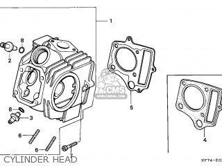 honda trx90 fourtrax 1994 (r) usa parts lists and schematics