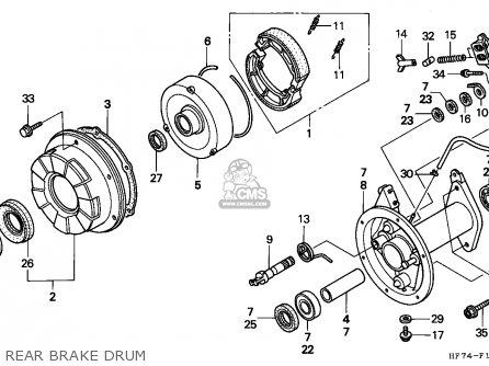 Honda Trx90 Fourtrax 1994 R Usa Parts Lists And Schematics